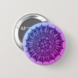 Interior Mandala 6 Cm Round Badge