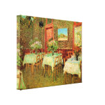 Interior of a restaurant by Vincent van Gogh Canvas Prints