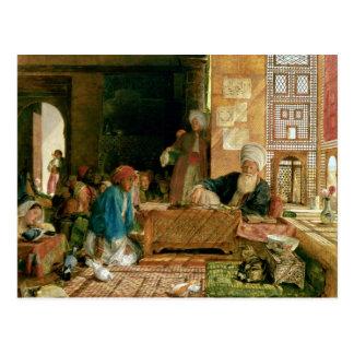 Interior of a School, Cairo Postcard