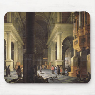 Interior of a Temple, 1652 Mouse Pad