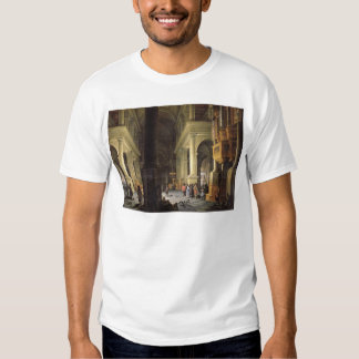 Interior of a Temple, 1652 T Shirt
