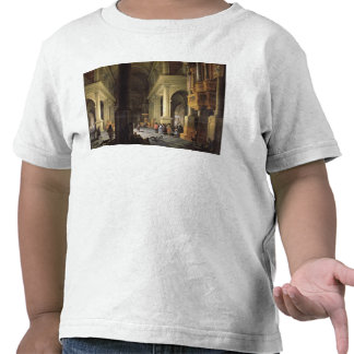 Interior of a Temple, 1652 Tee Shirt