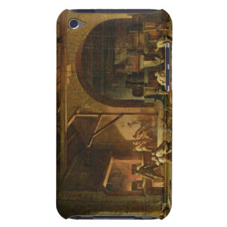 Interior of an Ironworks, 1850 (oil on canvas) Barely There iPod Cover