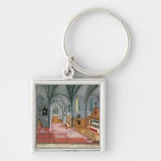 Interior of Church from L Abbaye de Keychains