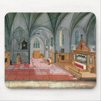 Interior of Church from L Abbaye de Mouse Pads