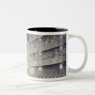 Interior of Drury Lane Theatre, 1808 Two-Tone Coffee Mug