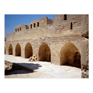 Interior of Fort of Qaitbay, Alexandria, Egypt Postcard