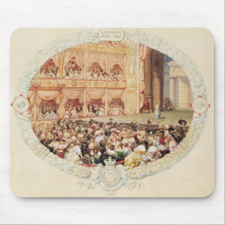 Interior of Her Majesty's Theatre, close of the se Mouse Pad