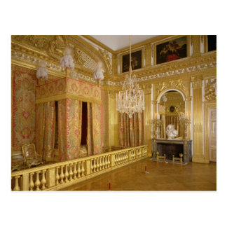 Interior of Louis XIV s bedroom 1701-23 Post Card