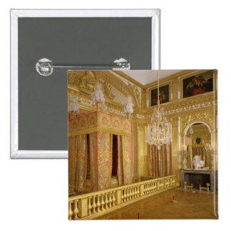 Interior of Louis XIV's bedroom, 1701-23 15 Cm Square Badge