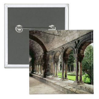 Interior of the cloister 15 cm square badge