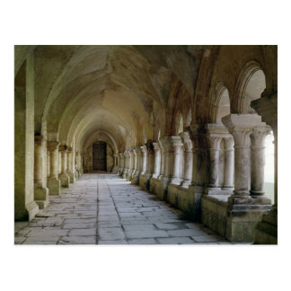 Interior of the cloister 2 postcard