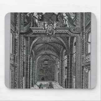 Interior of the Duke's Theatre in Lincoln's Inn Mouse Pad