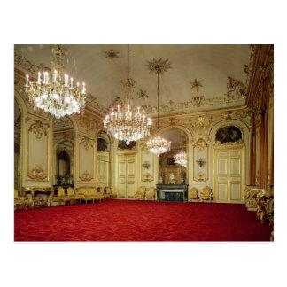 Interior of the Grand Salon Postcard