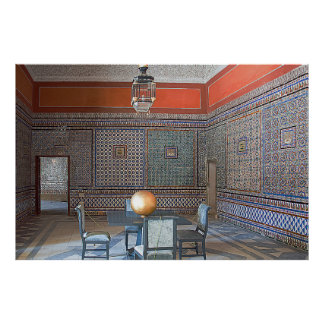 """Interior of the """"House of Pilate"""" Poster"""
