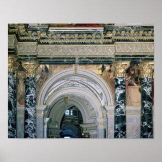 Interior of the Kunsthistorisches Museum Poster