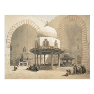 Interior of the Mosque of the Sultan El Ghoree, Ca Postcard