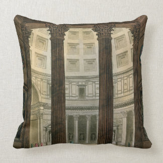 Interior of the Pantheon, Rome, from 'Le Costume A Cushion