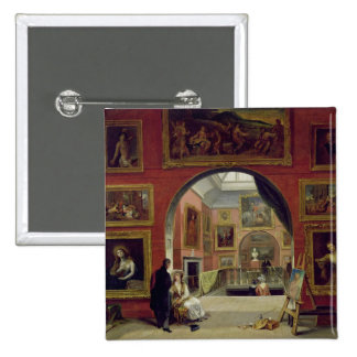 Interior of the Royal Institution, during the Old 15 Cm Square Badge