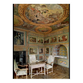 Interior of the 'Salle Louis XIV' Postcard