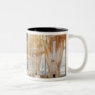 Interior of the Salon des Quatre Saisons Two-Tone Coffee Mug