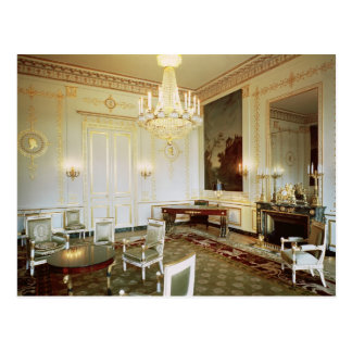 Interior of the Salon Vert Postcard