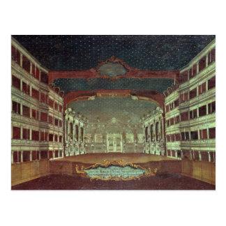 Interior of the San Samuele Theatre, Venice Postcard