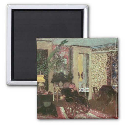 Interior or, The Salon with Three Lamps, 1899 Refrigerator Magnets