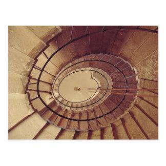 Interior staircase, 1560-61 postcard