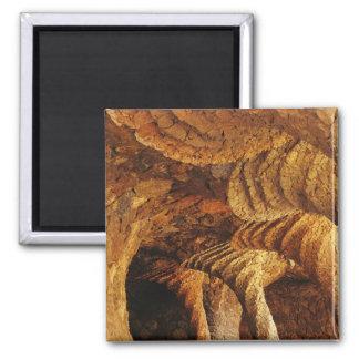 Interior vault (stone) square magnet