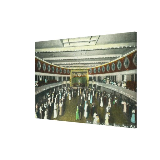 Interior View of the Casino Ball Room Stretched Canvas Prints