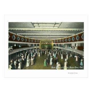 Interior View of the Casino Ball Room Postcard