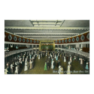 Interior View of the Casino Ball Room Poster