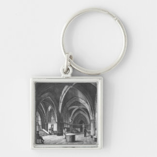 Interior view of the entrance room key chain