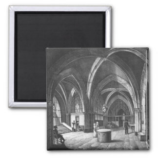 Interior view of the entrance room square magnet