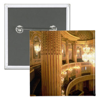 Interior view of the Opera House looking towards t 15 Cm Square Badge