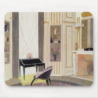 Interior with furniture designed by Ruhlmann, from Mouse Pad