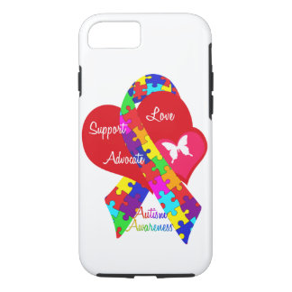 Interlaced Autism Ribbon iPhone 8/7 Case