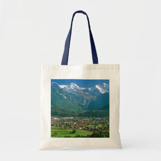Interlaken and the Jungfrau range Tote Bag