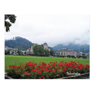 Interlaken, Switzerland Postcard