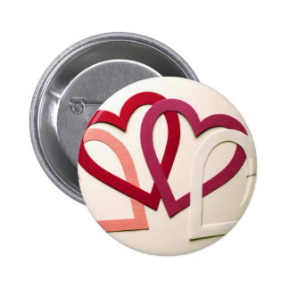 Interlocking Hearts Pins