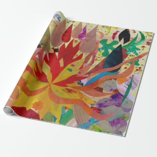 "Internal Flame - Matte Wrapping Paper, 30"" x 6' Wrapping Paper"