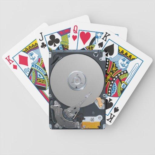 Internal Hard Drive Playing Cards