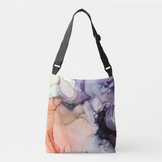 Internal Medicine - inkwork by Karen Ruane Crossbody Bag