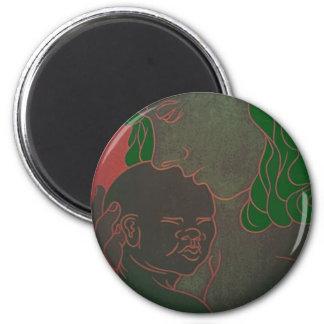 InternalRhyme 6 Cm Round Magnet