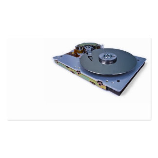 Internals of a hard disk drive Double-Sided standard business cards (Pack of 100)