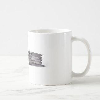 Internals of a hard disk drive coffee mugs