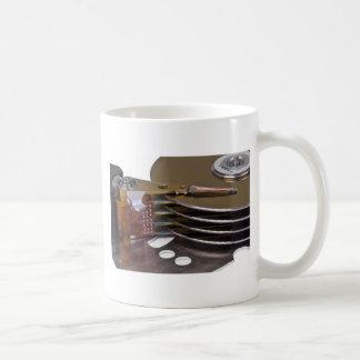Internals of a hard disk drive mugs
