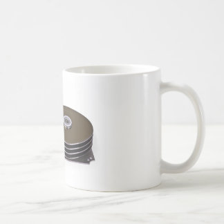 Internals of a hard disk drive mug