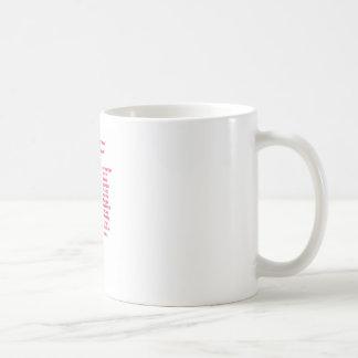 International Alphabet Basic White Mug
